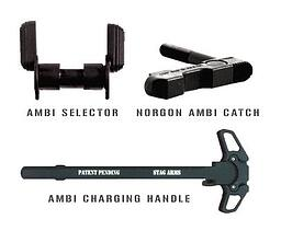 Left Handed Ambidextrous Rifle Accessories
