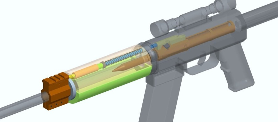 ar-15 gas piston