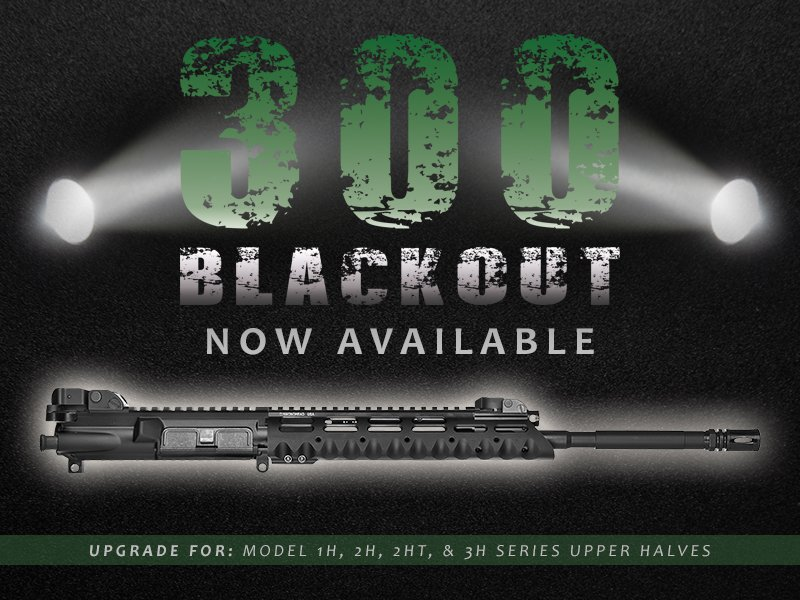 Press Release] Stag Arms Now Offers 300 Blackout AR-15 Upper